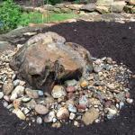 Bubbling Boulder Water Feature